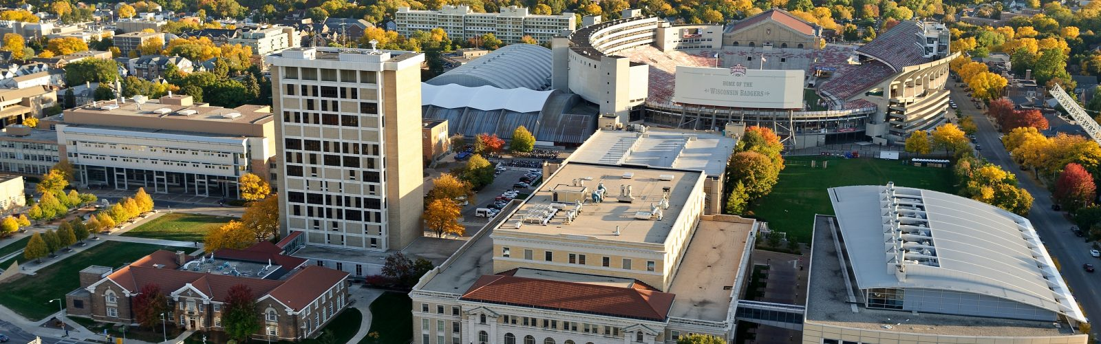 The engineering campus at the University of Wisconsin-Madison